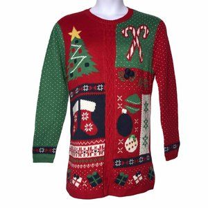 Daisys Boutique Ugly Christmas Sweater XL